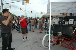 Horseless Carriage Museum at Bobcaygeon Bike Fest 2012