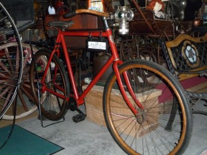 red bird no.1 shaft drive bicycle 1895 goold co.